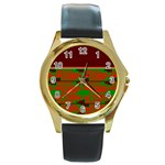 Sherellerippydec42019dddc5 Round Gold Metal Watch