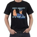 Obey Gravity! Black T-Shirt