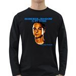 Sheldon is my homie Long Sleeve Dark T-Shirt