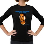 Sheldon is my homie Women s Long Sleeve Dark T-Shirt