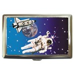 SPACE Shuttle Astronaut NASA Rocket Cigarette Money Case Box