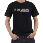ROFLMAO Black T-Shirt
