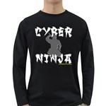 CYBER NINJA Long Sleeve Dark T-Shirt