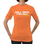 Will Hack For Sex Women s Dark T-Shirt