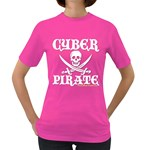 Cyber Pirate  Women s Dark T-Shirt
