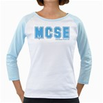 MCSE College Girly Raglan