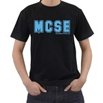 MCSE College Black T-Shirt