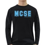 MCSE College Long Sleeve Dark T-Shirt