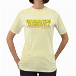 Information Technology Women s Yellow T-Shirt