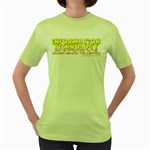 Information Technology Women s Green T-Shirt