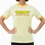 Information Technology Women s Fitted Ringer T-Shirt