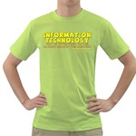 Information Technology Green T-Shirt