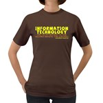 Information Technology Women s Dark T-Shirt