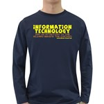 Information Technology Long Sleeve Dark T-Shirt