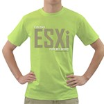 I m Too ESXi Green T-Shirt