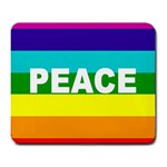 PEACE Rainbow Flag No War Battle Mouse Pad