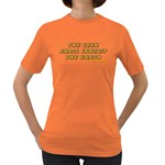 The Geek Shall Inherit The Earth Women s Dark T-Shirt