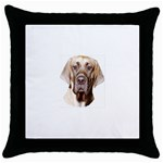 Great Dane ^ Throw Pillow Case (Black)