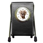 Great Dane ^ Pen Holder Desk Clock