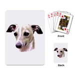 Italian Greyhound ^ Playing Cards Single Design