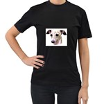 Italian Greyhound ^ Women s Black T-Shirt