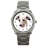 Italian Greyhound ^ Sport Metal Watch