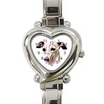 Italian Greyhound ^ Heart Italian Charm Watch