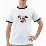 Italian Greyhound ^ Ringer T-Shirt