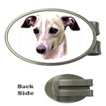 Italian Greyhound ^ Money Clip (Oval)