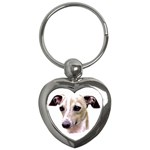 Italian Greyhound ^ Key Chain (Heart)