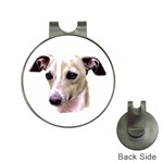 Italian Greyhound ^ Golf Ball Marker Hat Clip