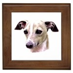 Italian Greyhound ^ Framed Tile
