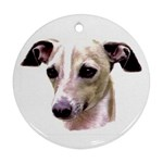 Italian Greyhound ^ Ornament (Round)