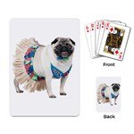 Pug In A Dress ^ Playing Cards Single Design