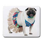 Pug In A Dress ^ Large Mousepad