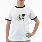 Pug In A Dress ^ Ringer T-Shirt