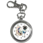 Pug In A Dress ^ Key Chain Watch