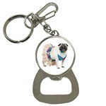 Pug In A Dress ^ Bottle Opener Key Chain