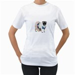 Pug In A Dress ^ Women s T-Shirt