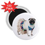 Pug In A Dress ^ 2.25  Magnet (100 pack)