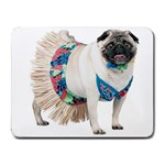 Pug In A Dress ^ Small Mousepad