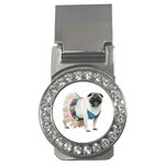 Pug In A Dress ^ Money Clip (CZ)