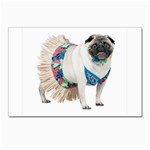 Pug In A Dress ^ Postcards 5  x 7  (Pkg of 10)