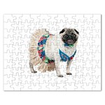 Pug In A Dress ^ Jigsaw Puzzle (Rectangular)