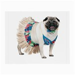 Pug In A Dress ^ Glasses Cloth (Small