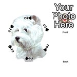Westie Terrier ^ Playing Cards 54 (Round)