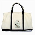 Westie Terrier ^ Two Tone Tote Bag