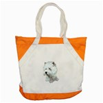 Westie Terrier ^ Accent Tote Bag