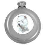 Westie Terrier ^ Hip Flask (5 oz)