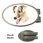 Jack Russell Terrier ^ Money Clip (Oval)